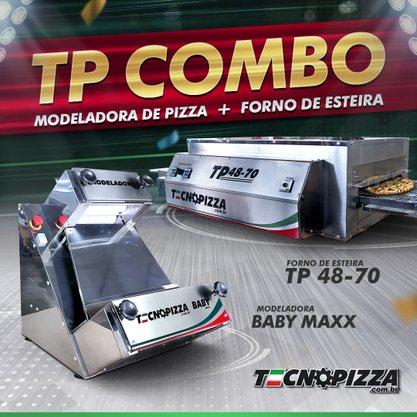 Forno de Esteira TP 48-70 + Modeladora BABY MAXX