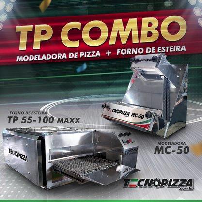 Forno de Esteira TP 55-100 + Modeladora MC-50